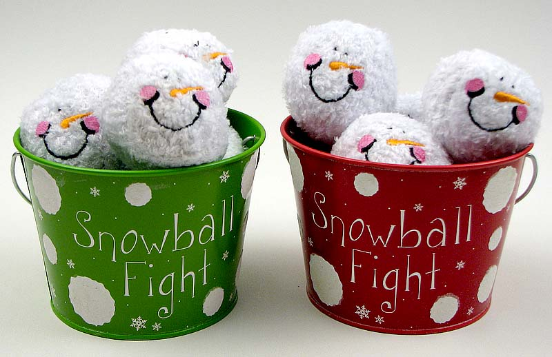 Indoor Snowball Fight Kit 2 Asst Priced Each Wholesale